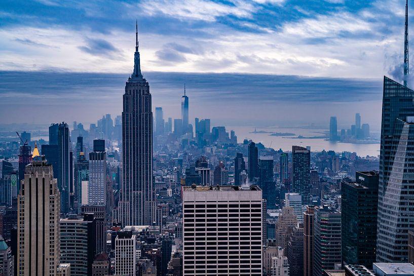 Empire state view van Chris van Es