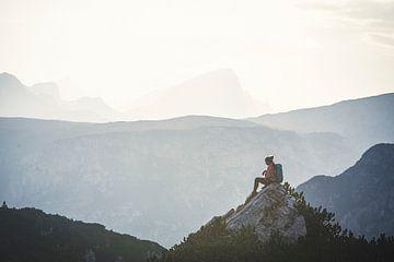 Eine Pause in den Dolomiten von Brian Decrop