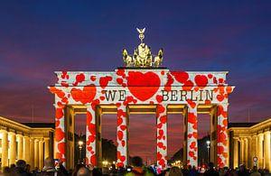 Brandenburger Tor mit besonderer Beleuchtung von Frank Herrmann