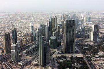 Sheikh Zayed Road van