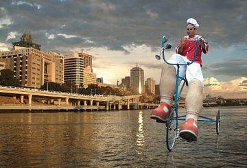 Bike Adventure van Hans van der Pol