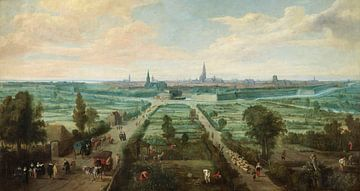 Blick auf Antwerpen, Jan Wildens