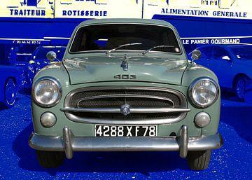 Peugeot 403 in originele kleur van aRi F. Huber