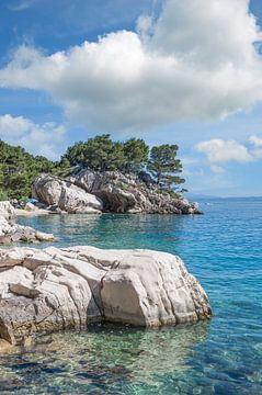 sur la Riviera de Makarska, à Brela sur Peter Eckert