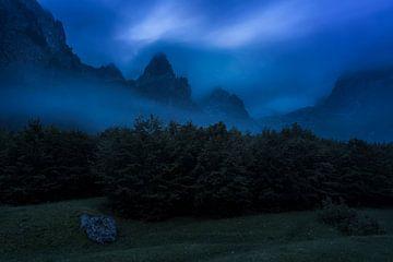 montenegro blaue stunde von Rick Kloekke