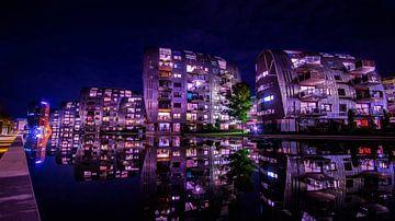 Het spiegelende water. sur Geert den Tek
