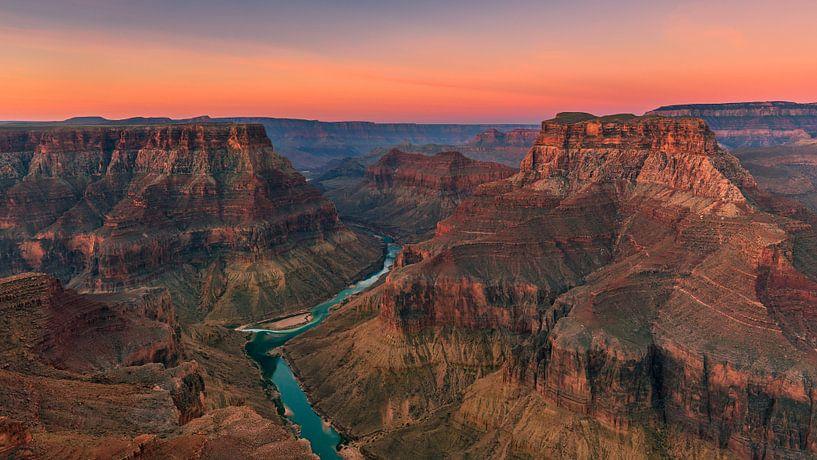 Confluence Point, Grand Canyon N.P, Arizona van Henk Meijer Photography