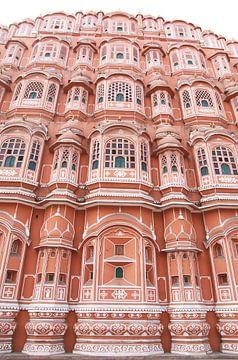 Die rosa Stadt, Jaipur, Indien von Irma Grotenhuis