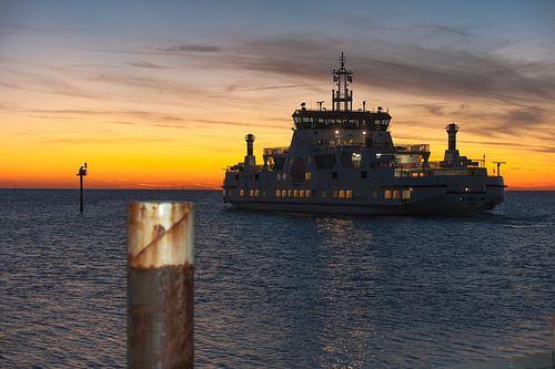 de laatste boot naar Ameland