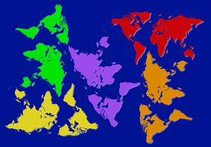 De wereld op z'n kop