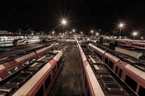 Station Groningen van Arjen Dijk