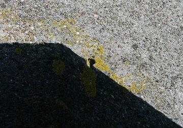 abstract concrete composition no. 2 van Robin Veenink