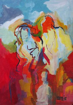 abstrakt figure van Deniz Paulat