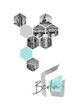 Urban Design BERLIN van Melanie Viola