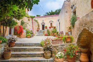 Monastery Garden,  Crete Island(Greece)