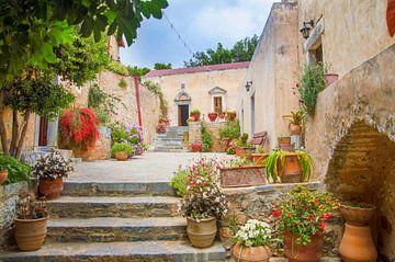 Monastery Garden,  Crete Island(Greece) van King Photography