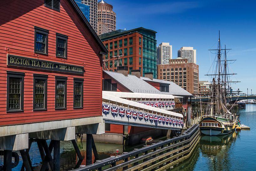 BOSTON Tea Party – Museum and Ship van Melanie Viola