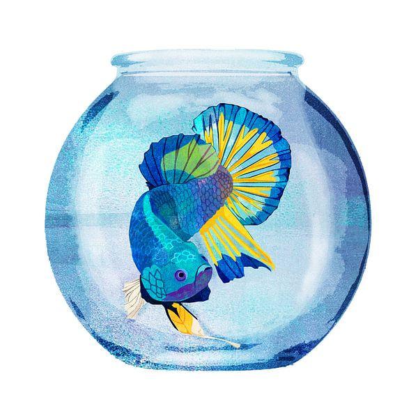 Gevangen Vis van Goed Blauw