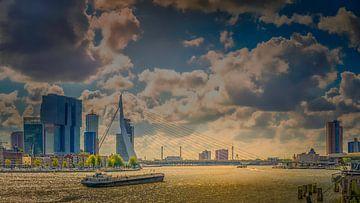Rotterdam Maas zicht van Dennis Donders