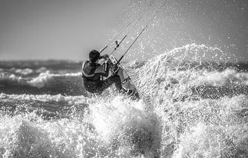 Kitesurfer sur Reinier Snijders
