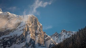 Bergtop Schneiderspitze @ Axamer Lizum van