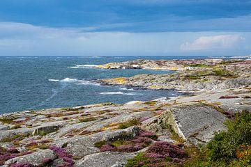 Gezicht op het eiland Käringön in Zweden van Rico Ködder