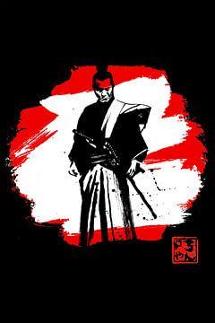 rot-weiße Samurai von philippe imbert