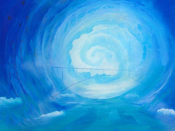 Lichtblau van Silvian Sternhagel