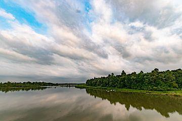 Mooie luchten in de Biesbosch van Arie Jan van Termeij