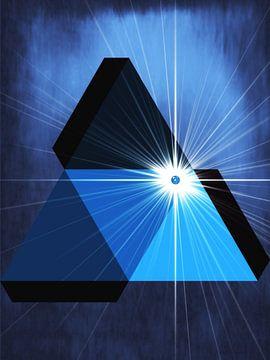 Tetrahedron in der Sonne von Christine Nöhmeier