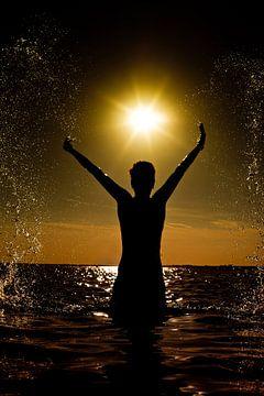 Zee en zon van Andy Van Tilborg