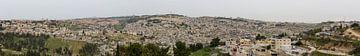 Panorama van Jerusalem in Israel van Joost Adriaanse