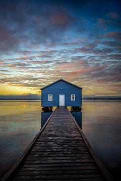 Perth's Boatshed trough a Kaleidoscope of color. von Remco van Adrichem