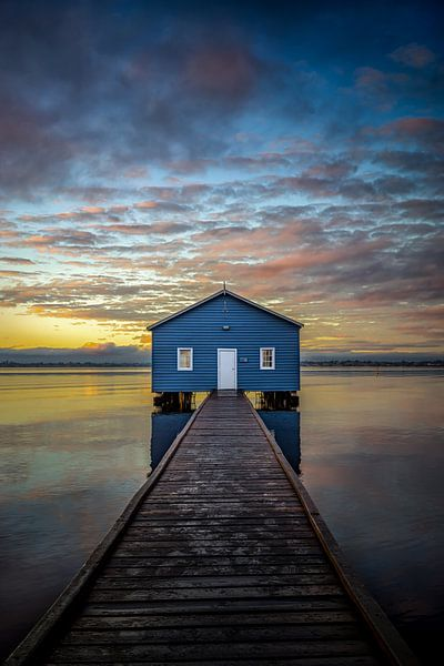 Perth's Boatshed trough a Kaleidoscope of color. van Remco van Adrichem