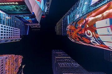 New York - Wolkenkratzer van