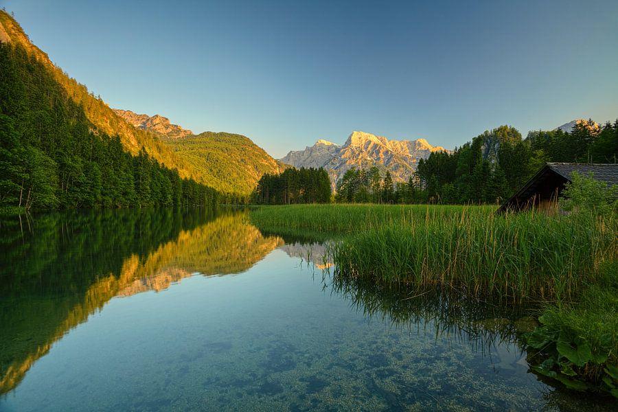 Alp Lake (Summer version) van Silvio Schoisswohl