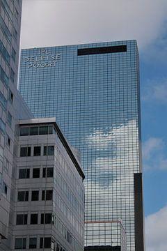 Gebäude des Delftse Poort in Rotterdam von Maarten de Jong