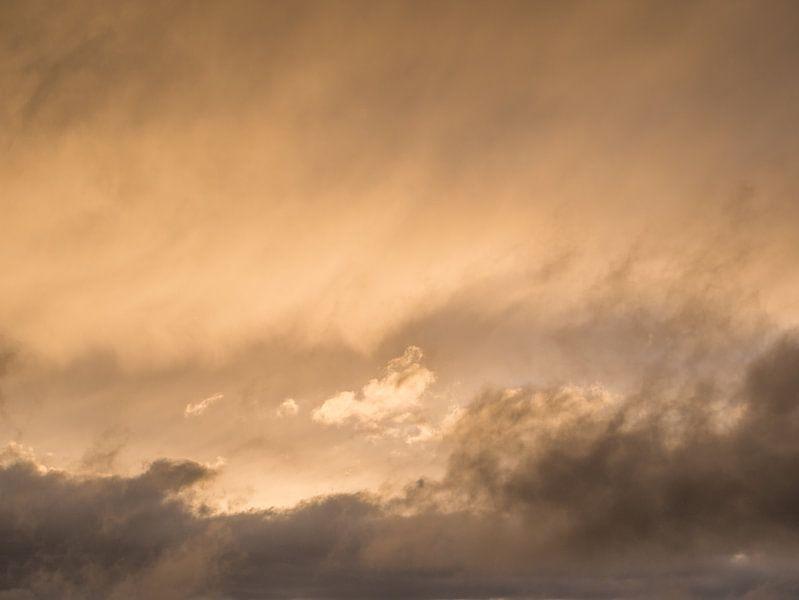 Zonsondergang met pasteltinten