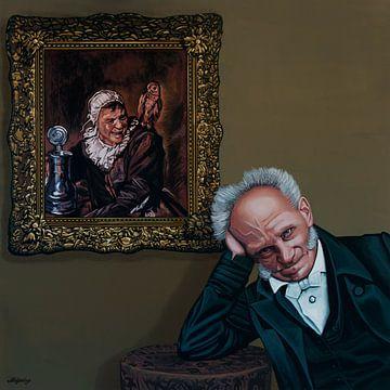 Schopenhauer und Malle Babbe von Frans Hals Gemälde von Paul Meijering