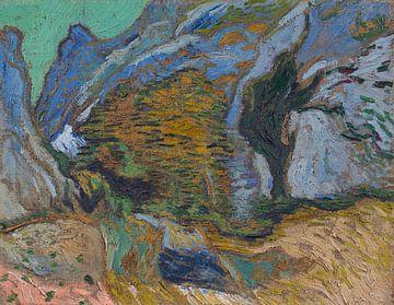 Schlucht mit kleinem Bach, Vincent van Gogh