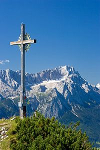 """Gipfelkreuz am """"Hohen Fricken"""""""