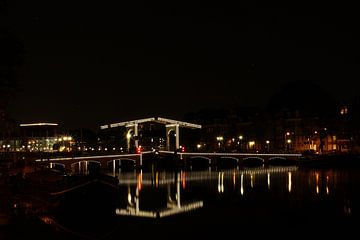 Magere brug Amsterdam van Marcel Runhart