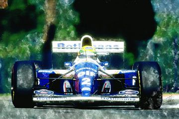 Ayrton Senna van Theodor Decker