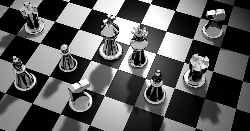 Schachbrett von Atelier Liesjes