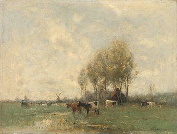 Weide met koeien, Willem Maris