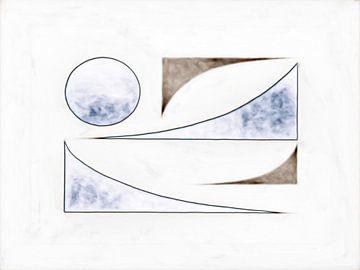 Abstrakte Formen von Maurice Dawson