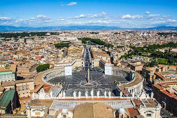 Vaticaan plein, Rome van Ivo de Rooij