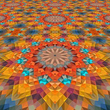 Mandala Perspective 3 sur Marion Tenbergen