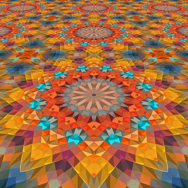 Mandala Perspectief 3 van Marion Tenbergen