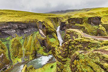 Fjaðrárárgljúfur-Schlucht von Easycopters
